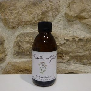 hydrolat eau floral achilée millefeuille bio producteur Au moulin de mon père Ardèche