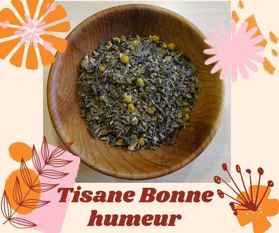 tisane mélange bonne humeur herboristerie des mille feuilles