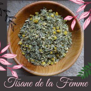 Tisane de la femme - BIO 100g - Herboristerie des mille feuilles