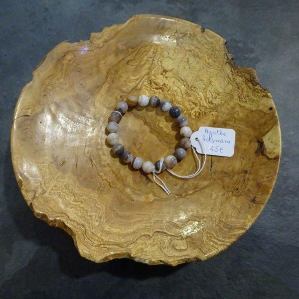 Bracelet Agathe botswana Herboristerie des mille feuilles