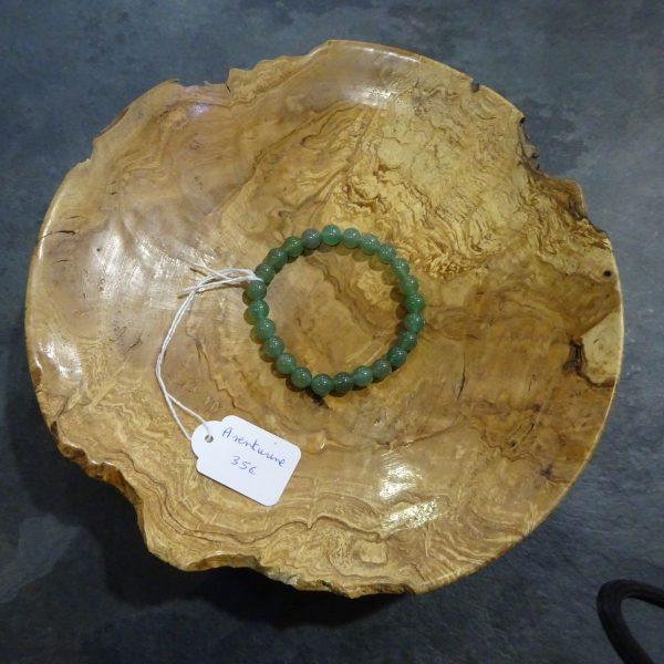 Bracelet Aventurine verte petite perles. Herboristerie des mille feuilles