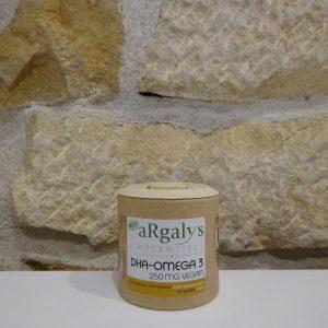 DHA Omega 3 Argalys essentielles Herboristerie des mille feuilles
