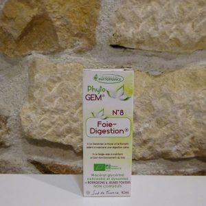 Complexe de gemmothérapie Foie et digestion Herboristerie des mille feuilles
