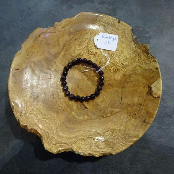 Améthyste bracelet petites perles Herboristerie des mille feuilles