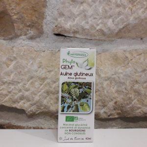 Aulne glutineux gemmothérapie Herboristerie des mille feuilles
