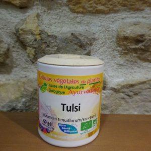gélules de tulsi basilic sacré Herboristerie des mille feuilles