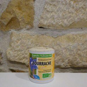 Capsules huileuses de Bourrache - Herboristerie des mille feuilles