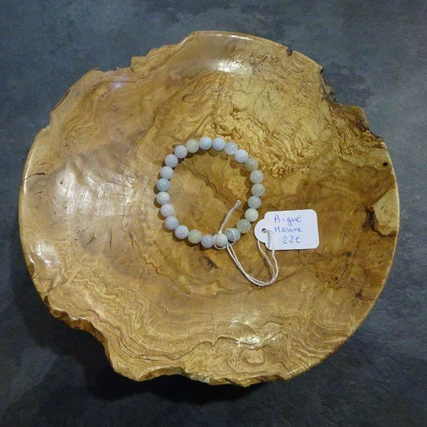 Bracelet Aigue marine Herboristerie des mille feuilles