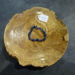 Bracelet chips en Cyanite Herboristerie des mille feuilles