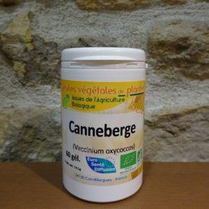 Gélules de Canneberge bio - Herboristerie des mille feuilles