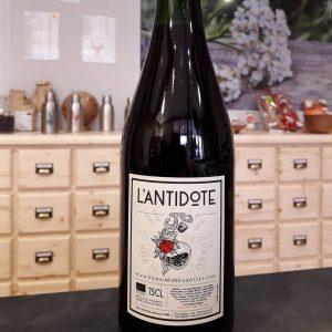 Boisson sans alcool L'Antidote Domaine des grottes Saint Etienne des oullières Herboristerie des mille feuilles