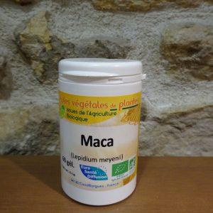 Gélules de Maca bio - Herboristerie des mille feuilles