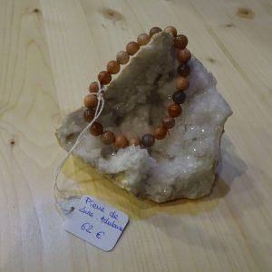 Bracelet en Pierre de lune adulaire - Herboristerie des mille feuilles
