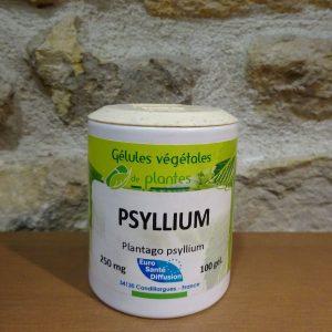 gélules de Psyllium - Herboristerie des mille feuilles
