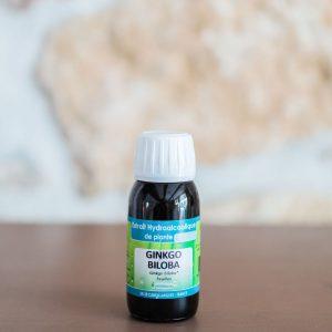 Extrait hydro-alcoolique de Ginkgo biloba. Herboristerie des mille feuilles