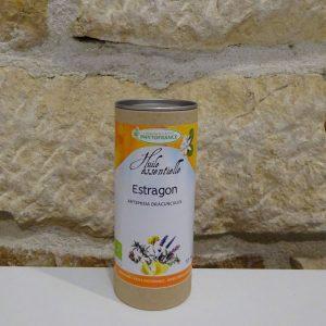 Huile essentielle d'Estragon bio en flacon de 10 ml. Herboristerie des mille feuilles