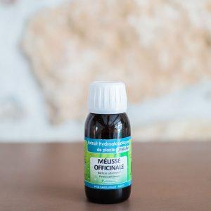 Extrait hydroalcoolique de Mélisse bio. Herboristerie des mille feuilles