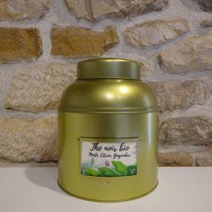 thé noir bio maté citron gingembre. Herboristerie des mille feuilles