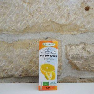 Huile essentielle de pamplemousse bio, 10ml. Herboristerie des mille feuilles
