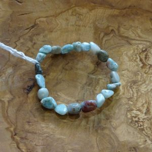 Bracelet Larimar. Herboristerie des mille feuilles