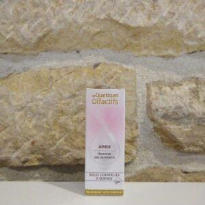 Quantique olfactif Aimer, du laboratoire DEVA. Herboristerie des mille feuilles