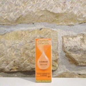 Quantique olfactif Courage du laboratoire DEVA. Herboristerie des mille feuilles