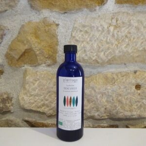 Hydrolat de Genévrier en 200 ml bio. Origine Drôme provençale - Plantago. Herboristerie des mille feuilles