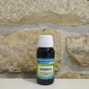 Extrait hydroalcoolique de Busserole bio en 60ml. Herboristerie des mille feuilles