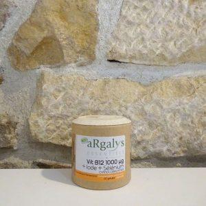 Vitamine B12 Argalys essentiels. Herboristerie des mille feuilles