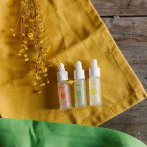 Sérums Manolia-cosmétiques en 4 ml et 8 ml. Herboristerie des mille feuilles